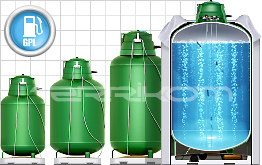 Liquified hydrogen gas storage tank